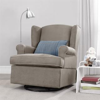 Baby Relax Colby Dark Taupe Swivel Glider, Overstock.com