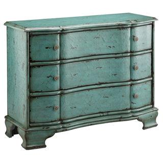 Ilana Vintage Turquoise 3-drawer Accent Chest, Overstock.com