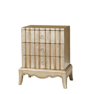 Christopher Knight Home Luminescent Kennan Silver and Gold Wash Chest, Overstock.com