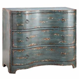 Widmer Monet Blue Layered-tone Cabinet, Overstock.com