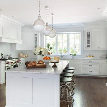 Red Oak Floors, Transitional, Kitchen, Kathy Tracey Design