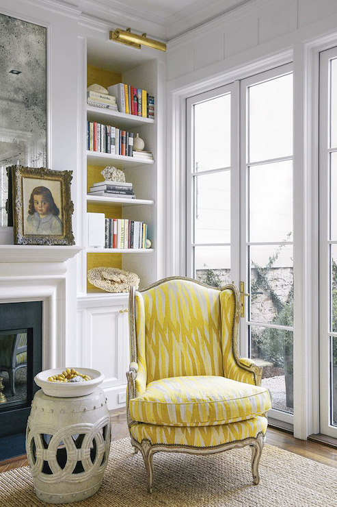 yellow living room chair - 28 images - yellow wingback chair ...