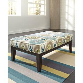 Signature Design by Ashley Brileigh Lagoon Oversized Accent Ottoman, Overstock.com