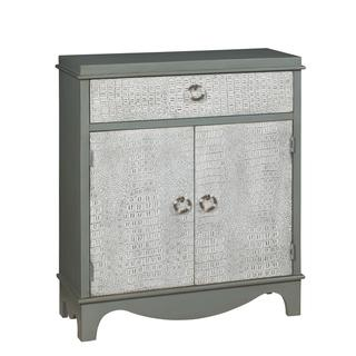 Christopher Knight Home Kathmore Grey and Antique White Cabinet, Overstock.com