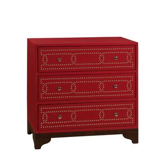 Christopher Knight Home Neutral Keeneland Red Three Drawer Chest, Overstock.com