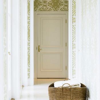 China Seas Sigourney Wallpaper, Transitional, Entrance/foyer, J K Kling Associates