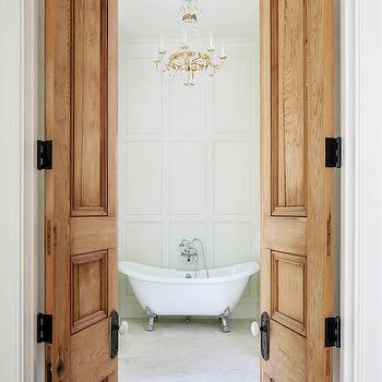 Cypress Doors, French, Bathroom, Telich Custom Homes