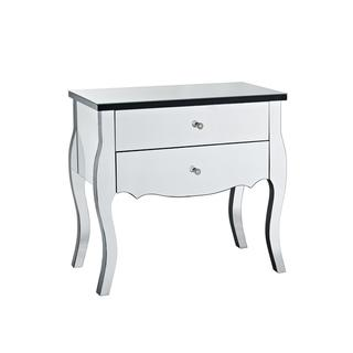 Powell Mirrored 2-drawer Console, Overstock.com