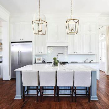 Brass Island Lanterns, Transitional, Kitchen, Telich Custom Homes