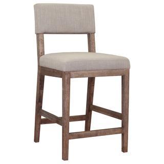 Austin Beige Linen Counter Stool, Overstock.com