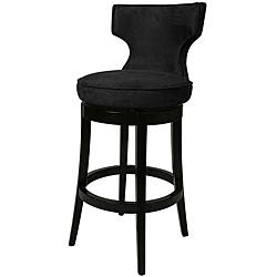 Augusta Black Wood Counter Stool I Overstock.com