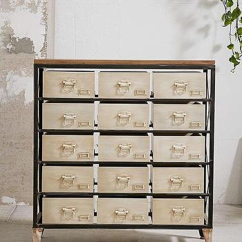 Industrial Storage Dresser, Urban Outfitters