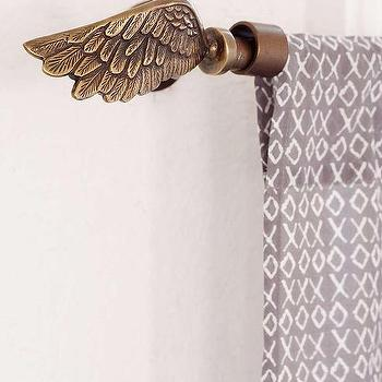 Plum & Bow Wing Finial Set, Urban Outfitters