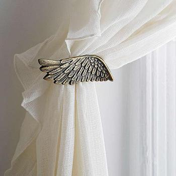 Plum & Bow Wing Curtain Tie-Back , Urban Outfitters
