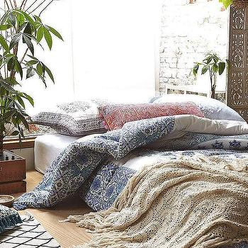 Magical Thinking Devi Medallion Duvet Cover , Urban Outfitters
