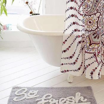 Allover So Fresh Bath Mat, Urban Outfitters
