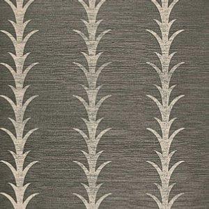 Schumacher Acanthus Stripe Shadow Wallpaper