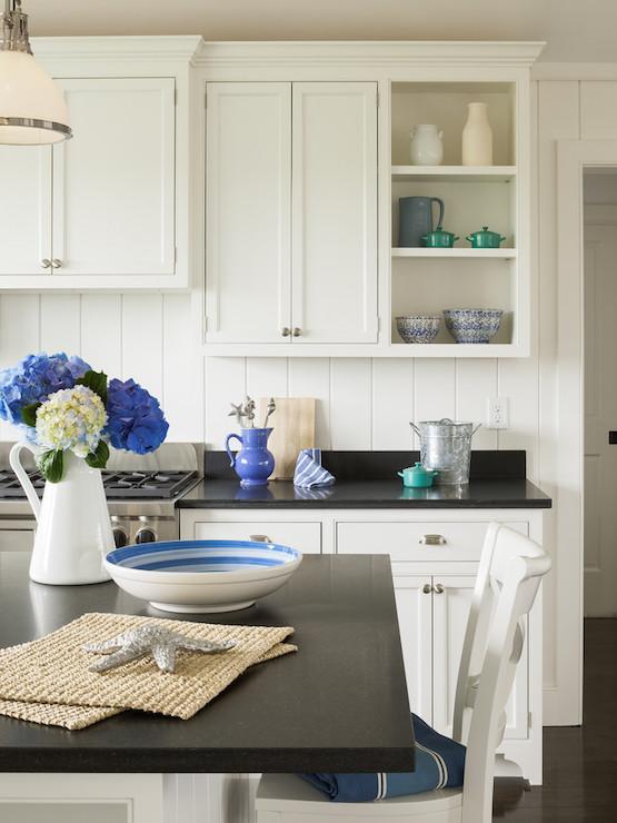 Honed Absolute Black Granite Countertops Cottage