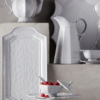 Estella Serveware, White Serveware