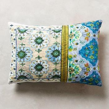 Pirra Pillow, Blue Pillow
