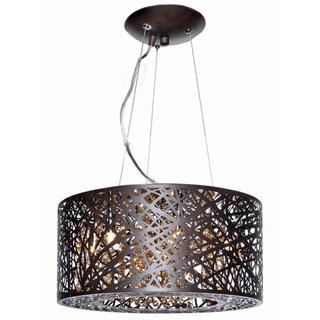 Inca Bronze Metal/ Steel 7-light Single Pendant, Overstock.com Shopping, The Best Deals on Chandeliers & Pendants
