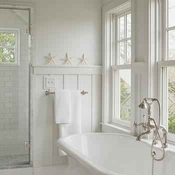 Bathroom With Board And Batten Cottage Bathroom