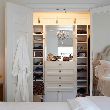 Closet with Built In Dresser, Transitional, Closet, B Moore Design