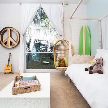 Kids Daybed with Canopy, Cottage, Girl's Room, More Design Build