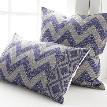 Chevron Pillow, Gujarat Pillow Cover