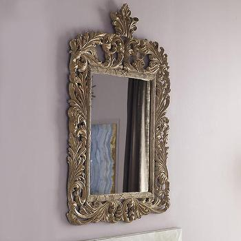 Louis XIV Style Mirror, Baroque Mirror