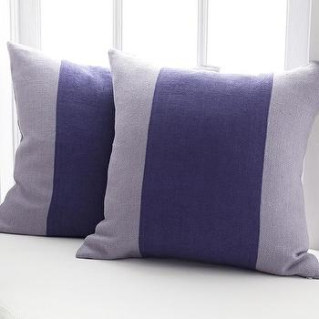 A Line of Lavender Pillow Cover