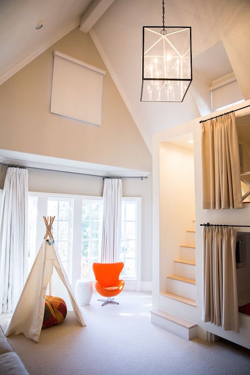 Bunk Bed Steps Transitional Boy S Room Amy Berry Design
