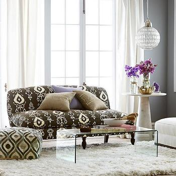 Brown Casablanca Loveseat