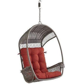 Gray Weather Resistant Swing