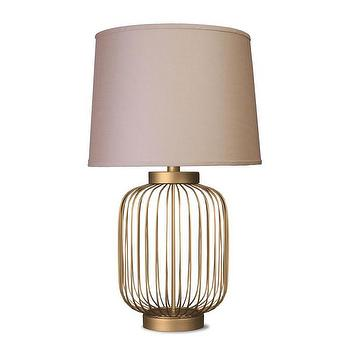 Wire Cage Metal Accent Lamp