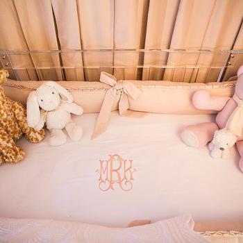 Lucite Crib, Transitional, Nursery, Amy Berry Design