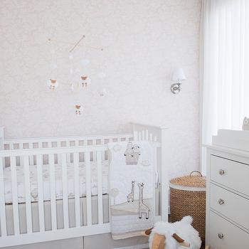 Pottery Barn Kids Kendall Fixed Gate Crib, Transitional, Nursery, Project Nursery