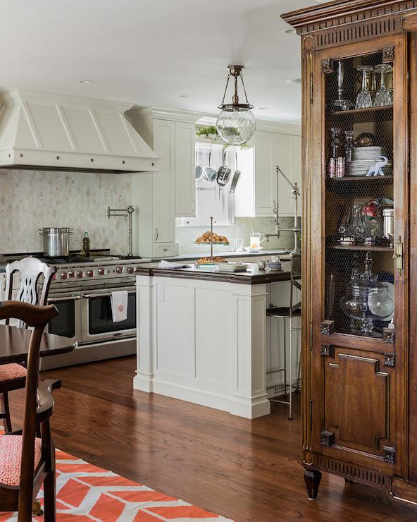 Studded Kitchen Hood