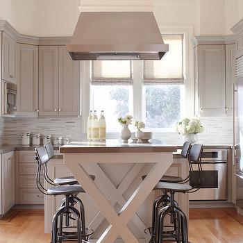 Caesarstone Lagos Blue Countertops, Transitional, Kitchen, Benjamin Moore Briarwood, Massucco Warner Miller