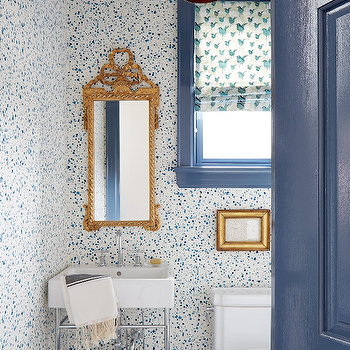 Hinson and Co Paint Splatter Wallpaper, Contemporary, Bathroom, House & Home
