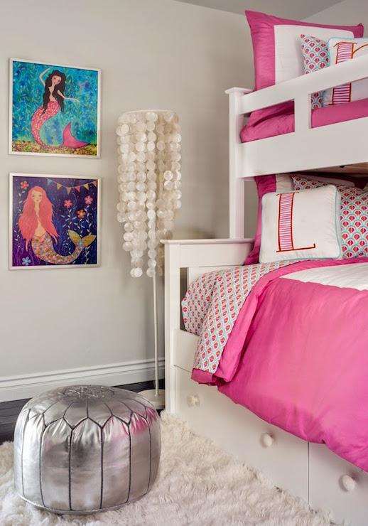 capiz floor lamp contemporary girl 39 s room lauren. Black Bedroom Furniture Sets. Home Design Ideas