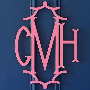 Pagoda Monogram, CMH Monogram