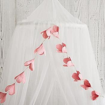 Pink Lily Paper Magic Garland