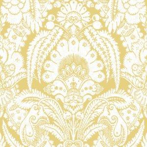 Cole & Son CHATTERTON FRENCH YELLOW AND IVORY Wallpaper