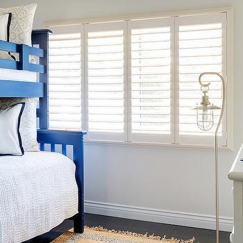 Blue Bunk Beds, Cottage, Boy's Room, Lauren Christine Henno