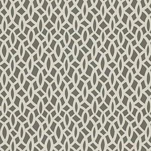 Schumacher Chain Link Charcoal Wallpaper