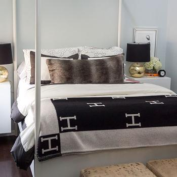 Hermes Avalon Blanket, Contemporary, Bedroom, Confetti and Stripes