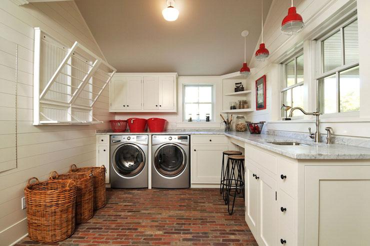 Farmhouse Laundry Rooms Country Room John Hummel