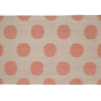 Genevieve Gorder for Capel, Coral Dot Rug
