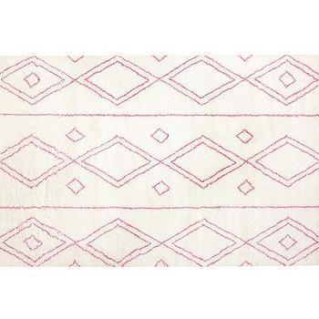 Delaney Rug, Pink